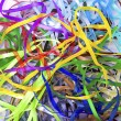 Color silk ribbons - Stock Photo