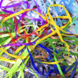 Color silk ribbons - Stock fotografie