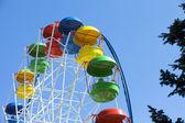 Empty Ferris wheel — Stock Photo