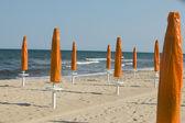 Deserted beach — Stock Photo