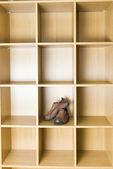 Zapato en armario — Foto de Stock