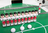 Toy football players — Stock Photo