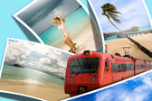 Travel to rest of your dream — Stock Photo