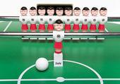 Toy football players — Stok fotoğraf