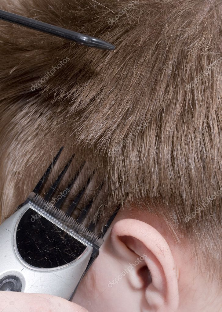 Hairstyle machine, Close-up — Stock Photo #1782628