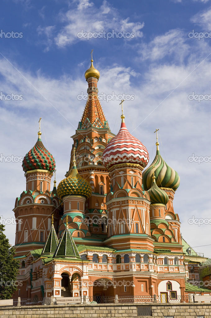 Moscow. Vasily's cathedral Blissful — Stock Photo #1783097