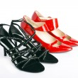 New elegant ladies' shoes - Stock Photo