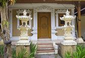 Bali, puertas de entrada de la casa — Foto de Stock