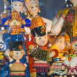 Russian traditional national toys — Stock Photo
