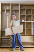Man is engaged in repair and furniture — Stock Photo