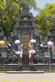 Temple, decorated to holiday. Bali, Indo — Stock Photo