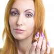 Portrait the young woman with a make-up — Stock Photo #2326846