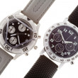 Wrist watches with several dials - Stockfoto