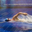 The young sports swimmer in pool — Lizenzfreies Foto