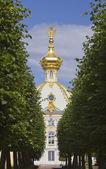 Russia, Petrodvorets- Peterhof Palace — Stock Photo