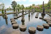 Bali, indonésie, imperiální plavání netopýr — Stock fotografie