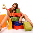Shopping woman — Stock Photo #1739094