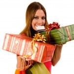 Shopping woman — Stock Photo #1780053