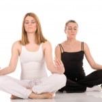 Yoga pose — Stock Photo #1783288