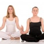 Yoga pose — Stock Photo #1783324