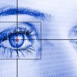 Royalty-Free Stock Photo: Eye scan