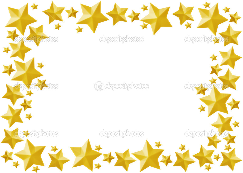 Celebration star framework.(included clipping path)  Stock Photo #1785897