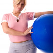 Fitness Frau — Stockfoto