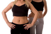 Fitness body — Stockfoto