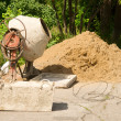 Concrete mixer — Stock Photo #1786852