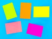 Notas adhesivas — Foto de Stock