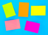 Sticky notes — Stock fotografie