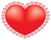 Heart isolated — Stock Photo