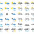 Web weather icons — Stock Photo #1831518