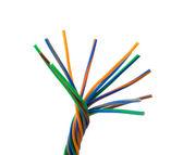 Cables de color — Foto de Stock