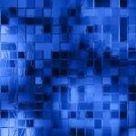 Blu glass background — Stock Photo