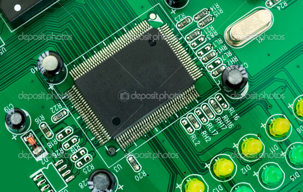 Printed circuit boards  Stock Photo #2350266