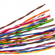 Color wire. — Stock Photo
