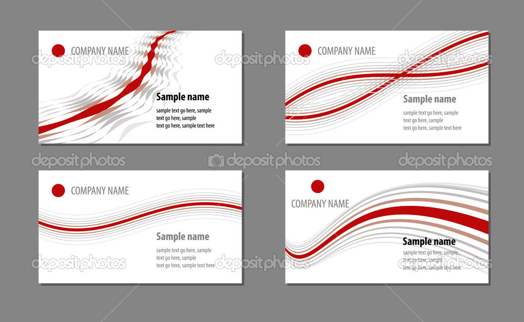 Business cards templates  Stock Vector #2625587