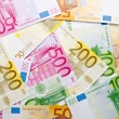 Euro background — Stockfoto