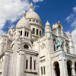 Sacre Coeur Basilica in Montmatre, Paris — Stock Photo