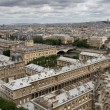 Paris view from Notre Dame — Stock Photo