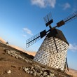Spanish windmill in Fuerteventura — Stock Photo