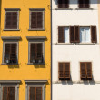 Old windows in Tuscany, Italy — Stock Photo #1805993