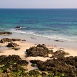 Stock Photo: Beach in atlantic coast Brittany
