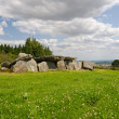 Stock Photo: Megalithic tomb in Brittany
