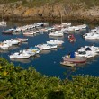 Small port with boats in Brittany - Stock Photo