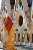 Details in Gaudi's Sagrada Familia — Stock Photo