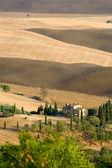Beautiful summer landscape in Tuscany — Stock Photo