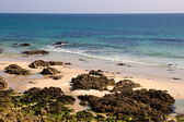 Beach in the atlantic coast Brittany — Stock Photo