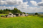 Megalithic tomb in Brittany, France — Stock Photo